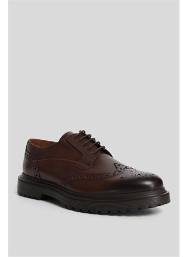 Lufian Luminosa Deri Casual Ayakkabı Kahverengi Kahve